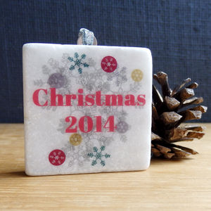 Personalised Christmas Decoration - view all decorations