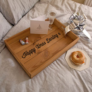 Personalised Christmas Tray
