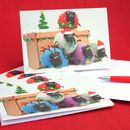 Personalised Sheep Christmas Card