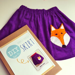 Make Your Own Skirt Sewing Craft Kit