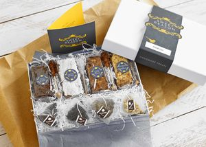 Bespoke Tea And Four Treats Gift Box - brownies
