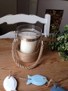 Nautical Candle Holder Lantern - votives & tea light holders