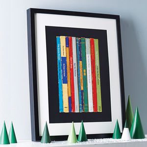 Stone Roses Album In Book Form Print - retro living room