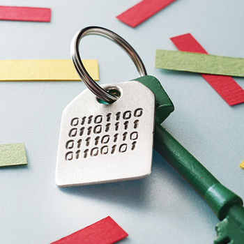 Binary Message Key Ring