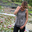 Sooty Owls Racer Camisole Top