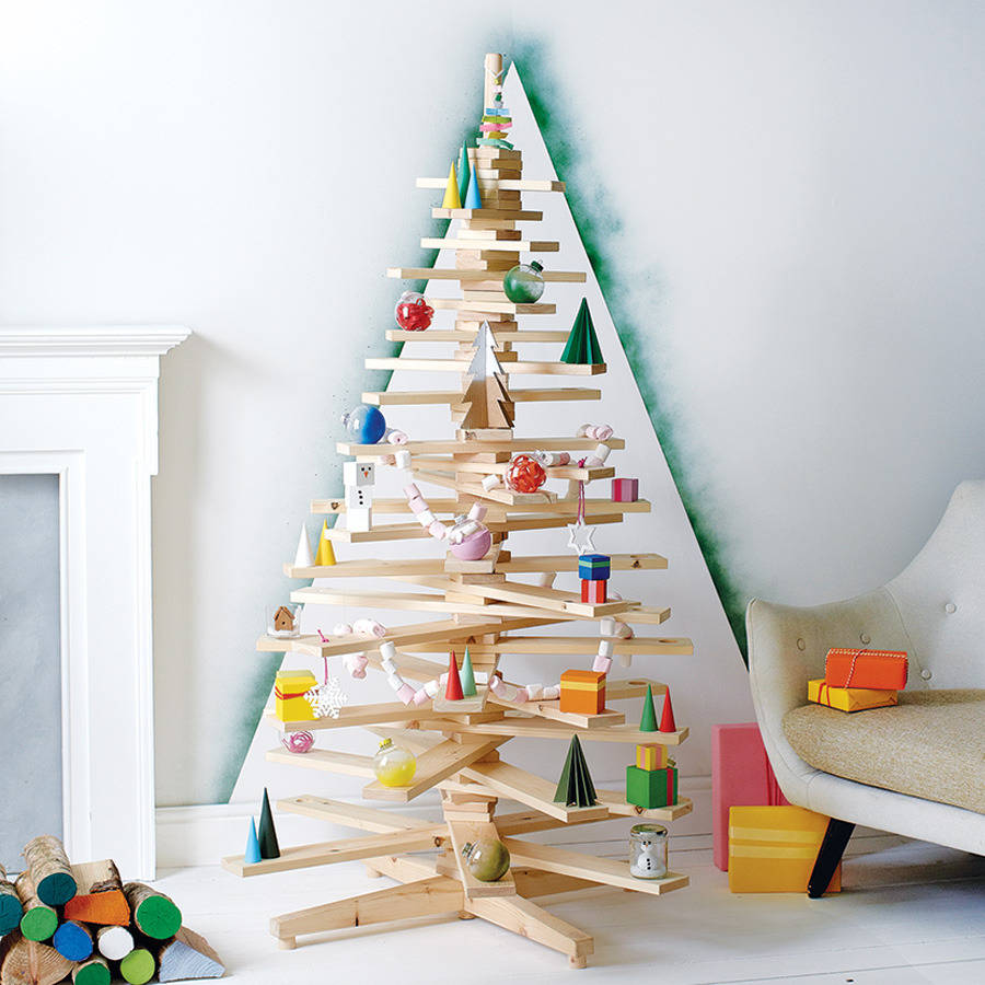 alternative wooden christmas tree by timbatree ...