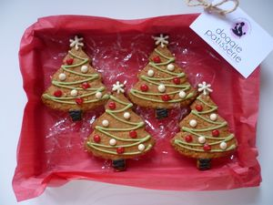 Christmas Tree Cookie Gift Box