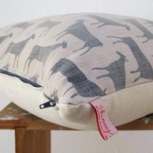 Herds Hide Cushion By Skinny La Minx