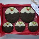 Christmas Pudding Cookie Gift Box