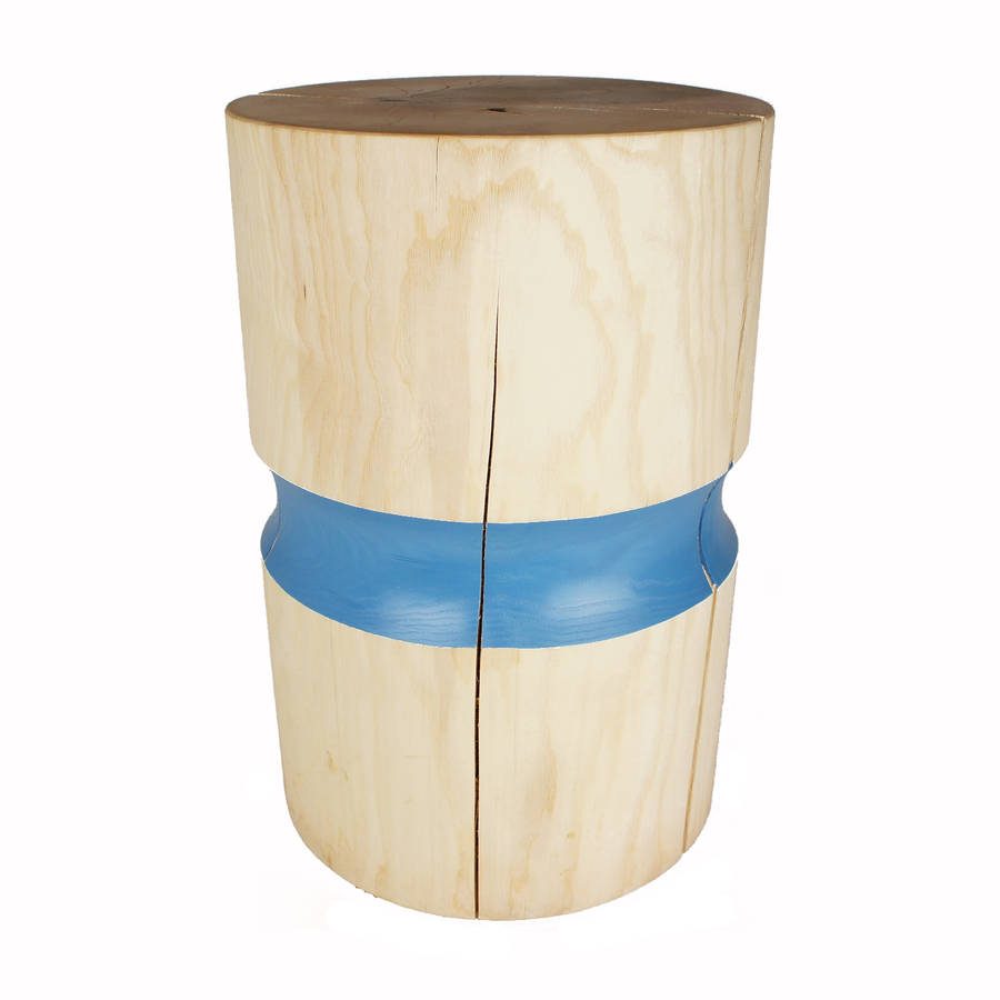 Wooden Side Table Ash Wood