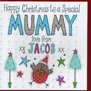 Personalised Mummy Christmas Card