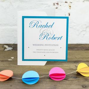 Kensington Wedding Stationery Collection - wedding stationery