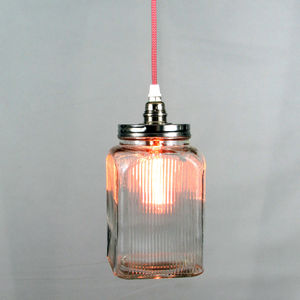 Customisable Retro Cookie Jar Pendant Light - ceiling lights