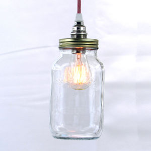 Bespoke Kilner Jar Pendant Light