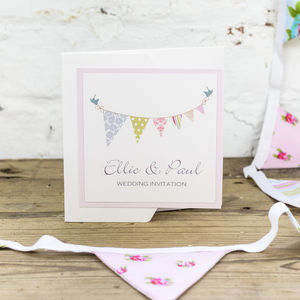 Bunting Wedding Stationery Collection - parties