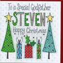 Personalised Godfather Christmas Card