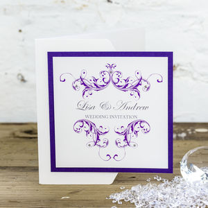 Vintage Wedding Stationery Collection
