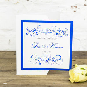Lucy Wedding Stationery Collection - invitations