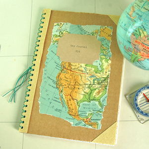 Map Journal Kit - travel journals & diaries