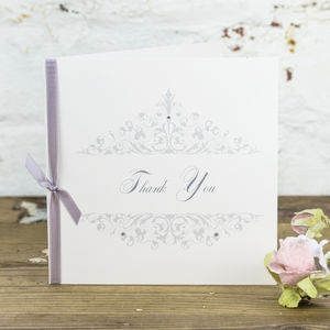 10 Personalised Leah Thank You Cards - thank you cards