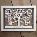 Personalised Family Tree Photo Papercut