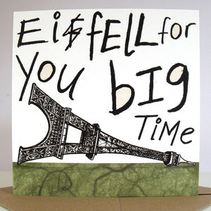 'Ei Fell For You Big Time' Card