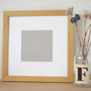 Handmade Picture Frame - children's room