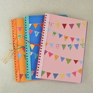 Childrens Personalised Bunting Book Kit