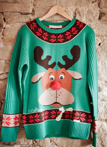 Women's Colin Christmas Jumper - christmas jumpers & fancy dress