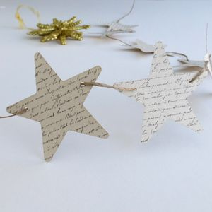 Star Garland - garlands & bunting