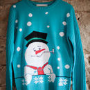 Women's Snowman Christmas Jumper