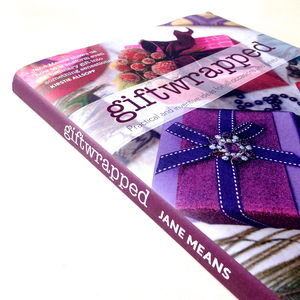 Giftwrapped Hardback Book By Jane Means Signed Copy