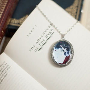 Fallen Locket Necklace