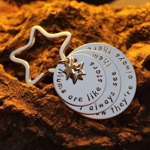 'Mums Are Like Stars…' Keyring