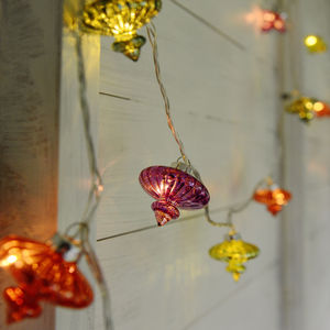 Colourful Casablanca Light Chain - fairy lights & string lights