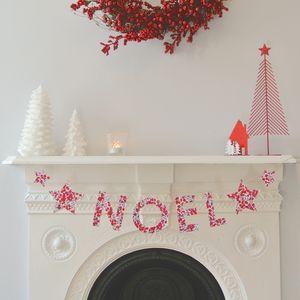Christmas Liberty Fabric Noel Garland - garlands & bunting