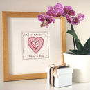 personalised framed picture gift for grandma