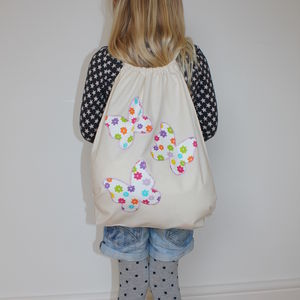 Butterfly Gym Bag