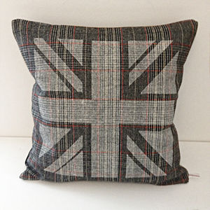Darcy Union Jack Cushion - decorative accessories