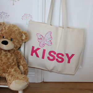 Personalised Kids Name Bag