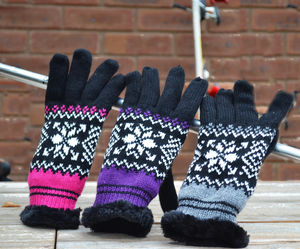 Apres Ski Lined Gloves