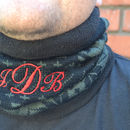 Personalised Ski, Snowboard Neck Warmer, Snood