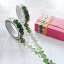 Christmas Brussel Sprout Tape
