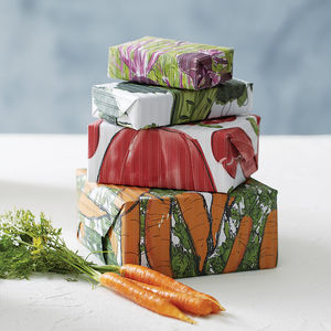 Superfood Plantable Wrapping Paper Pack - ribbon & wrap
