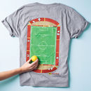Dad's Football Pitch T Shirt