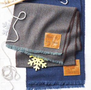 Lambswool Scarf With Handwritten Message - gifts under £50