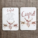 Reindeer Christmas Seating Plan And Table Name Cards