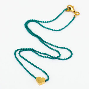 Hundreds And Thousands Loop Necklace - women's jewellery