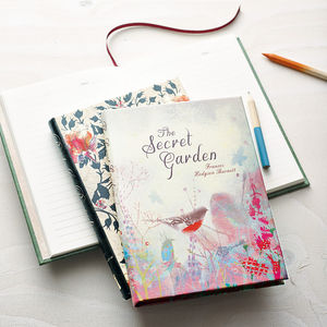 Half Year Diary To Jul 2016 Vintage Book Style - gifts for her
