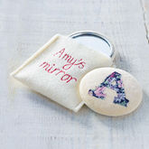 Embroidered Initial Mirror - health & beauty